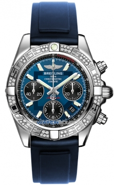 Breitling Chronomat 41 Mens watch, model number - ab0140aa/c830-3pro2t, discount price of £7,460.00 from The Watch Source
