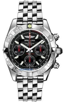 Breitling Chronomat 41 Mens watch, model number - ab014112/bb47-ss, discount price of £6,240.00 from The Watch Source