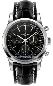 Breitling Transocean Chronograph 43mm Mens watch, model number - ab015212/ba99-1cd, discount price of £5,440.00 from The Watch Source