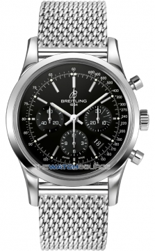 Breitling Transocean Chronograph 43mm Mens watch, model number - ab015212/ba99-ss, discount price of £5,350.00 from The Watch Source