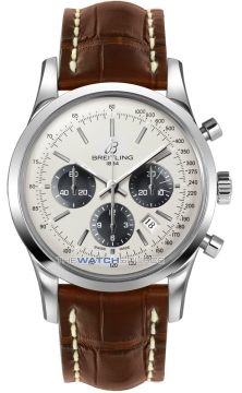 Breitling Transocean Chronograph 43mm Mens watch, model number - ab015212/g724-2cd, discount price of £5,440.00 from The Watch Source