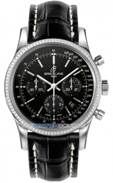 Breitling Transocean Chronograph 43mm Mens watch, model number - ab015253/ba99-1ct, discount price of £8,500.00 from The Watch Source