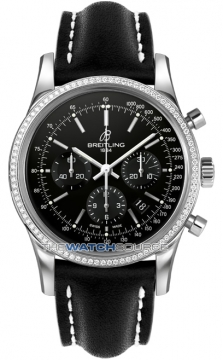 Breitling Transocean Chronograph 43mm Mens watch, model number - ab015253/ba99-1ld, discount price of £8,410.00 from The Watch Source