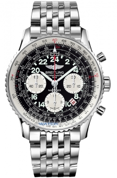 Breitling Navitimer Cosmonaute Mens watch, model number - ab021012/bb59-ss, discount price of £6,240.00 from The Watch Source