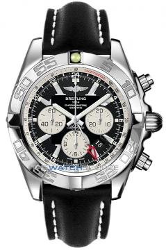 Breitling Chronomat GMT Mens watch, model number - ab041012/ba69-1lt, discount price of £5,760.00 from The Watch Source