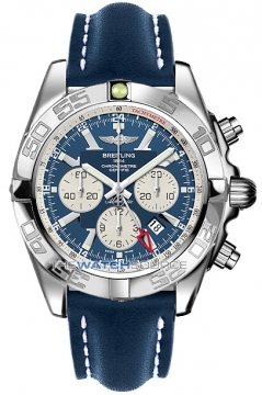 Breitling Chronomat GMT Mens watch, model number - ab041012/c834-3lt, discount price of £5,760.00 from The Watch Source