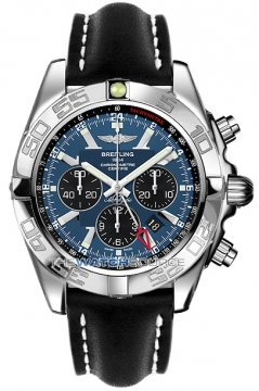 Breitling Chronomat GMT Mens watch, model number - ab041012/c835-1ld, discount price of £5,910.00 from The Watch Source