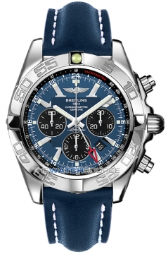 Breitling Chronomat GMT Mens watch, model number - ab041012/c835-3lt, discount price of £5,760.00 from The Watch Source
