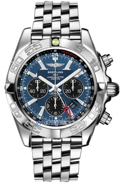 Breitling Chronomat GMT Mens watch, model number - ab041012/c835-ss, discount price of £6,510.00 from The Watch Source