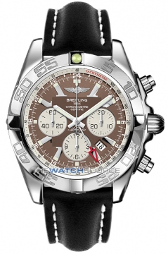 Breitling Chronomat GMT Mens watch, model number - ab041012/q586-1ld, discount price of £5,910.00 from The Watch Source