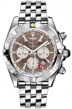 Breitling Chronomat GMT Mens watch, model number - ab041012/q586-ss, discount price of £6,510.00 from The Watch Source