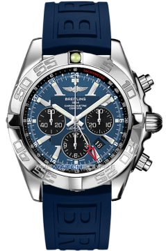 Breitling Chronomat GMT Mens watch, model number - ab041012/c835-3pro3d, discount price of £5,910.00 from The Watch Source