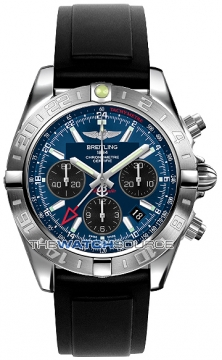 Breitling Chronomat 44 GMT Mens watch, model number - ab042011/c852-1pro2d, discount price of £5,970.00 from The Watch Source