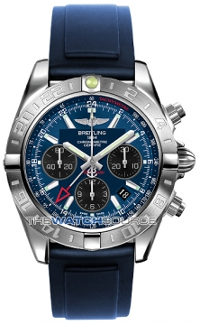 Breitling Chronomat 44 GMT Mens watch, model number - ab042011/c852-3pro2t, discount price of £5,770.00 from The Watch Source