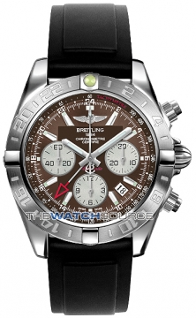 Breitling Chronomat 44 GMT Mens watch, model number - ab042011/q589-1pro2d, discount price of £5,970.00 from The Watch Source