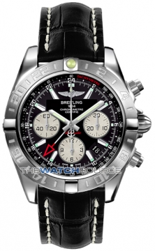 Breitling Chronomat 44 GMT Mens watch, model number - ab042011/bb56-1ct, discount price of £6,060.00 from The Watch Source