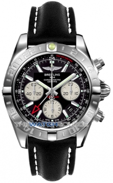 Breitling Chronomat 44 GMT Mens watch, model number - ab042011/bb56-1ld, discount price of £5,756.00 from The Watch Source