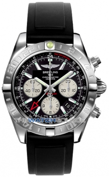 Breitling Chronomat 44 GMT Mens watch, model number - ab042011/bb56-1pro2d, discount price of £5,970.00 from The Watch Source