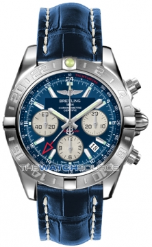 Breitling Chronomat 44 GMT Mens watch, model number - ab042011/c851-3ct, discount price of £5,990.00 from The Watch Source