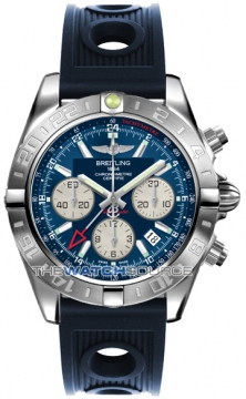 Breitling Chronomat 44 GMT Mens watch, model number - ab042011/c851-3or, discount price of £5,900.00 from The Watch Source