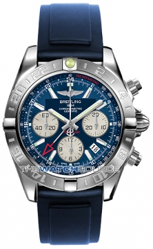 Breitling Chronomat 44 GMT Mens watch, model number - ab042011/c851-3pro2d, discount price of £5,970.00 from The Watch Source