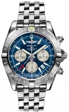 Breitling Chronomat 44 GMT Mens watch, model number - ab042011/c851-ss, discount price of £6,540.00 from The Watch Source
