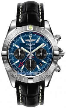 Breitling Chronomat 44 GMT Mens watch, model number - ab042011/c852-1cd, discount price of £6,150.00 from The Watch Source