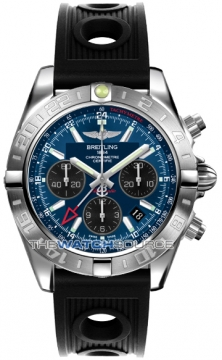 Breitling Chronomat 44 GMT Mens watch, model number - ab042011/c852-1or, discount price of £5,818.00 from The Watch Source