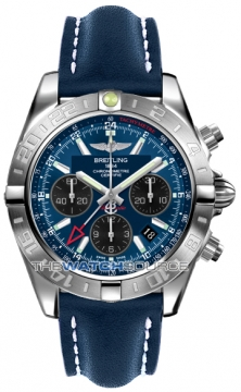Breitling Chronomat 44 GMT Mens watch, model number - ab042011/c852-3lt, discount price of £5,750.00 from The Watch Source