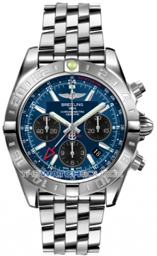 Breitling Chronomat 44 GMT Mens watch, model number - ab042011/c852-ss, discount price of £6,540.00 from The Watch Source