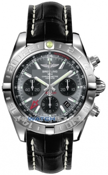Breitling Chronomat 44 GMT Mens watch, model number - ab042011/f561-1ct, discount price of £5,946.00 from The Watch Source