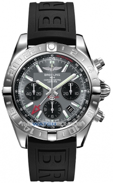 Breitling Chronomat 44 GMT Mens watch, model number - ab042011/f561-1pro3t, discount price of £5,619.00 from The Watch Source