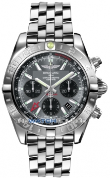 Breitling Chronomat 44 GMT Mens watch, model number - ab042011/f561-ss, discount price of £6,507.00 from The Watch Source