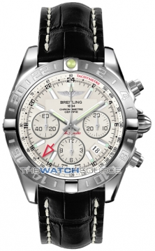 Breitling Chronomat 44 GMT Mens watch, model number - ab042011/g745-1ct, discount price of £5,990.00 from The Watch Source