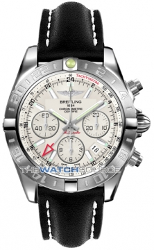 Breitling Chronomat 44 GMT Mens watch, model number - ab042011/g745-1ld, discount price of £5,900.00 from The Watch Source