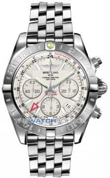 Breitling Chronomat 44 GMT Mens watch, model number - ab042011/g745-ss, discount price of £6,540.00 from The Watch Source