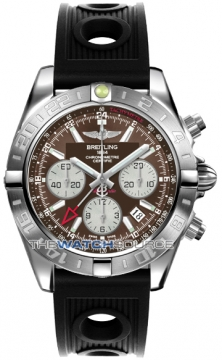 Breitling Chronomat 44 GMT Mens watch, model number - ab042011/q589-1or, discount price of £5,900.00 from The Watch Source