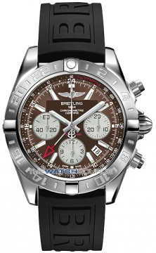 Breitling Chronomat 44 GMT Mens watch, model number - ab042011/q589-1pro3d, discount price of £6,059.00 from The Watch Source