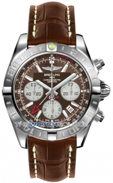 Breitling Chronomat 44 GMT Mens watch, model number - ab042011/q589-2ct, discount price of £5,990.00 from The Watch Source
