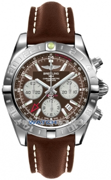Breitling Chronomat 44 GMT Mens watch, model number - ab042011/q589-2ld, discount price of £5,756.00 from The Watch Source