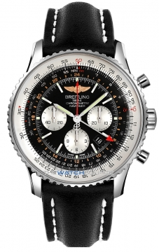 Breitling Navitimer GMT Mens watch, model number - ab044121/bd24-1ld, discount price of £6,190.00 from The Watch Source