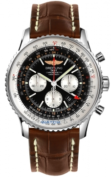 Breitling Navitimer GMT Mens watch, model number - ab044121/bd24-2cd, discount price of £6,893.00 from The Watch Source