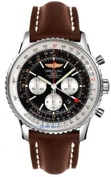 Breitling Navitimer GMT Mens watch, model number - ab044121/bd24-2lt, discount price of £6,020.00 from The Watch Source