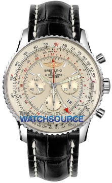 Breitling Navitimer GMT Mens watch, model number - ab044121/g783-1cd, discount price of £6,440.00 from The Watch Source