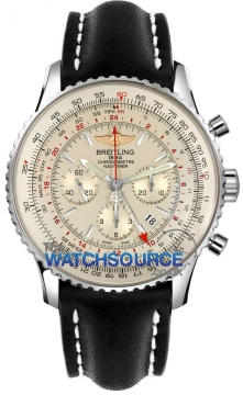 Breitling Navitimer GMT Mens watch, model number - ab044121/g783-1ld, discount price of £6,190.00 from The Watch Source