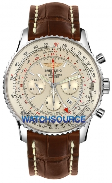 Breitling Navitimer GMT Mens watch, model number - ab044121/g783-2ct, discount price of £6,280.00 from The Watch Source