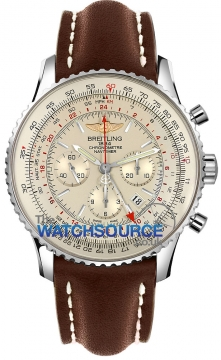 Breitling Navitimer GMT Mens watch, model number - ab044121/g783-2ld, discount price of £6,190.00 from The Watch Source