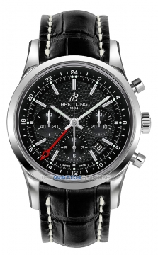 Breitling Transocean Chronograph GMT Mens watch, model number - ab045112/bc67-1cd, discount price of £6,290.00 from The Watch Source