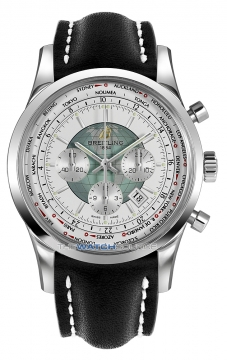 Breitling Transocean Chronograph Unitime Mens watch, model number - ab0510u0/a732-1lt, discount price of £7,330.00 from The Watch Source