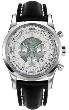 Breitling Transocean Chronograph Unitime Mens watch, model number - ab0510u0/a732-1ld, discount price of £7,290.00 from The Watch Source